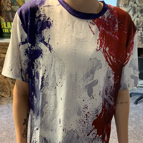 Other - Paint Red White And Blue T Shirt